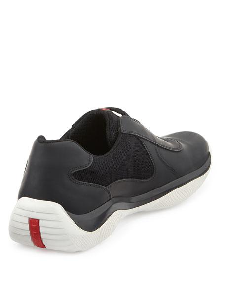 Punta Ala Leather Sneaker, Black
