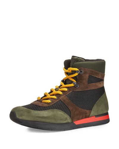 Colorblock Hiker Sneaker, Multicolor