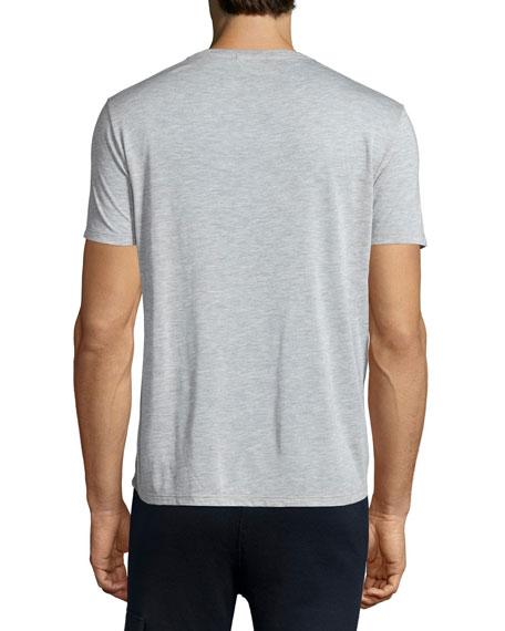 Short-Sleeve Crewneck T-Shirt, Gray