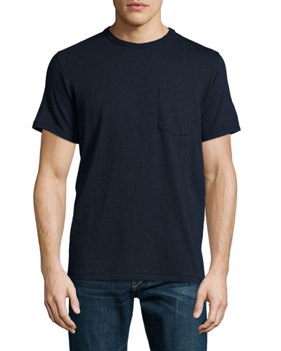 Standard Issue Short-Sleeve Pocket Tee, Navy