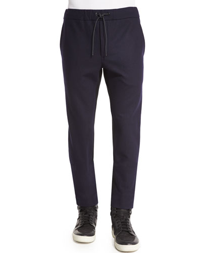 Salute Alpha Trousers with Drawstring Waist, Black