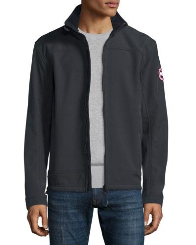 Bracebridge Zip-Up Jacket, Black