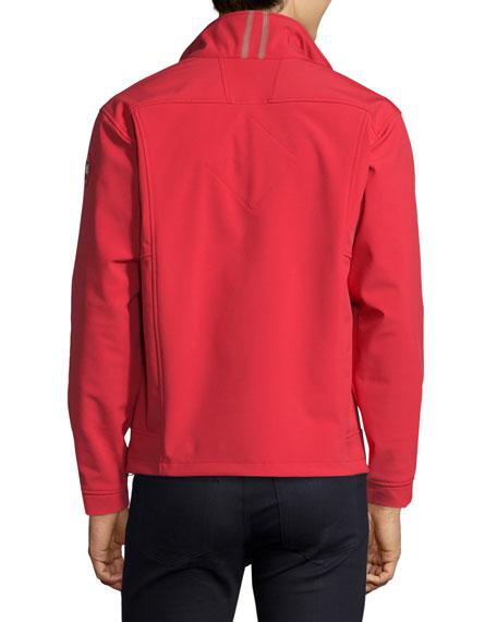 Bracebridge Zip-Up Jacket, Red