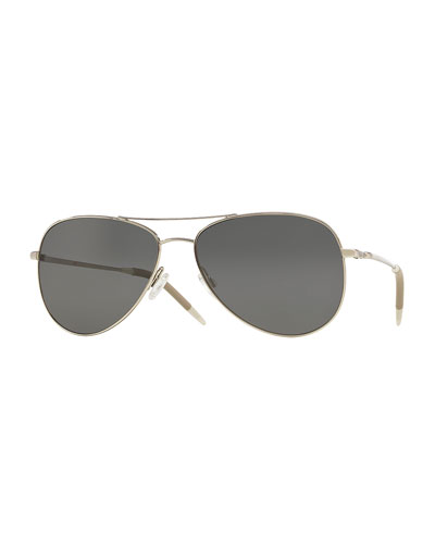 Kannon 59 Photochromic Sunglasses, Silver