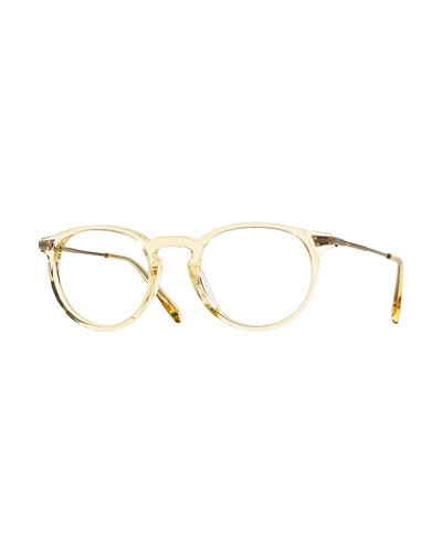 Lummis 47 Translucent Fashion Glasses, Beige