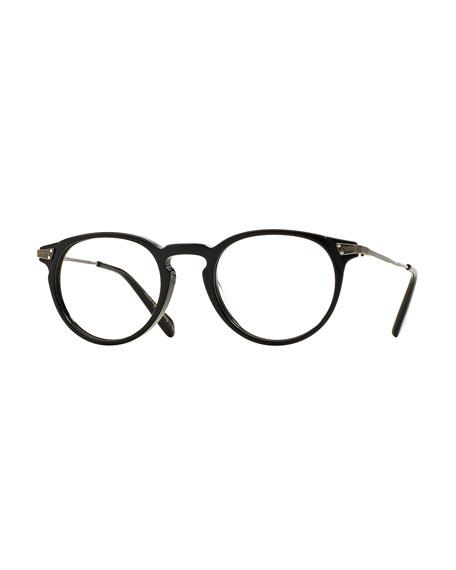 Lummis 47 Metal Fashion Glasses, Black