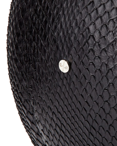 Regulation-Size Python Basketball, Black