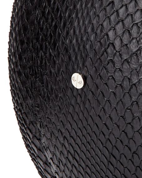 Regulation-Size Python Basketball, Black