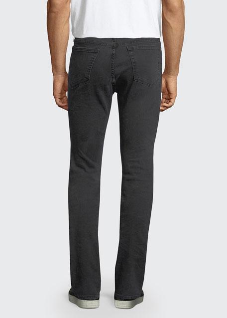 L'Homme Noir Skinny Jeans, Black