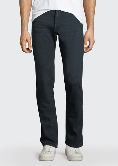 L'Homme Placid Straight-Leg Jeans, Dark Blue