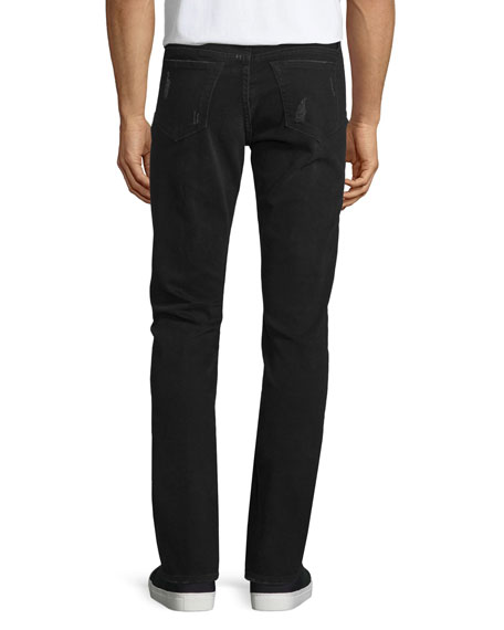 L'Homme Distressed Skinny-Leg Jeans, Chimney Rock