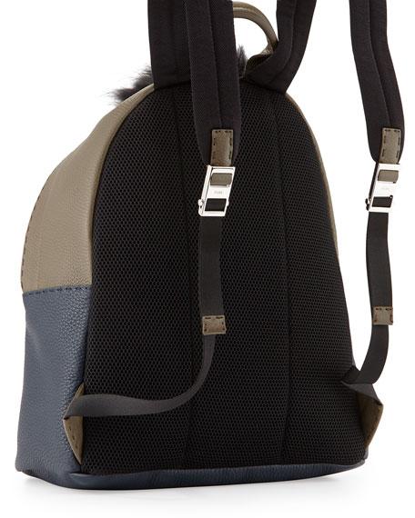 Monster Backpack with Fur Crest