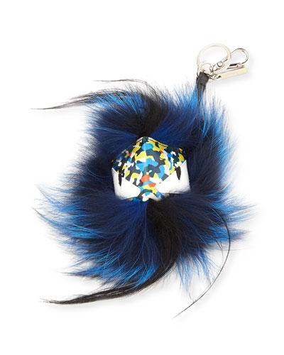 Fur Confetti Men's Charm for Bag/Briefcase