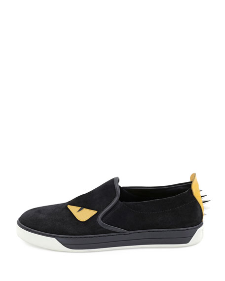 Fendi Men s Monster Slip-On Sneakers 4c22a2779e605