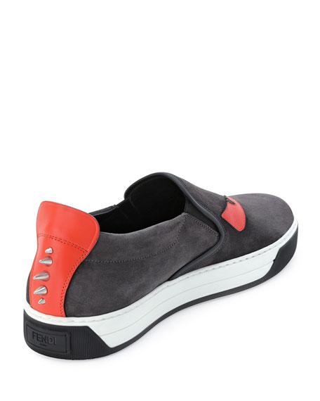 23d944e4 Men's Monster Slip-On Sneakers Black
