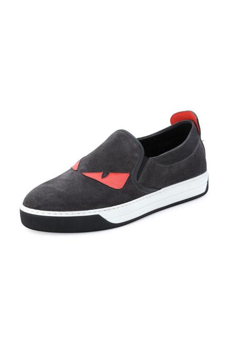 Monster Slip-On Sneaker, Black