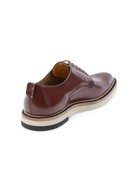 Hunting Lace-Up Shoe, Brown