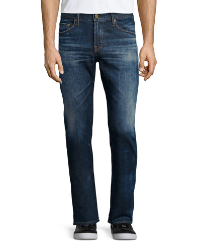 Graduate 10-Years Ansel Denim Jeans, Medium Blue Vintage