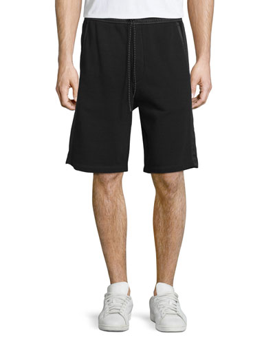 Knox Drawstring Training Shorts, Black