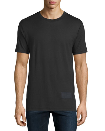Short-Sleeve Jersey T-Shirt, Black