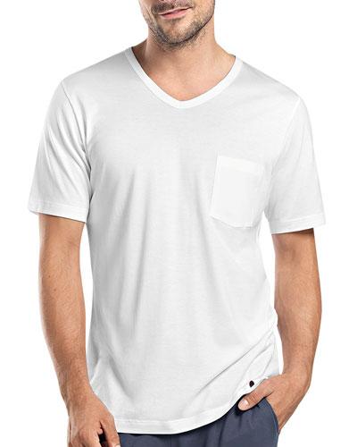 Night & Day Short-Sleeve Tee W/Pocket