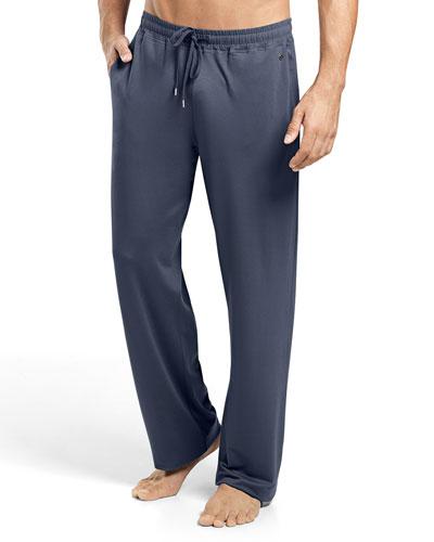 Harrison Solid Lounge Pants, Dark Gray