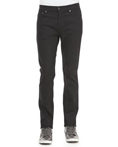 Ace Cash Five-Pocket Jean, True Black