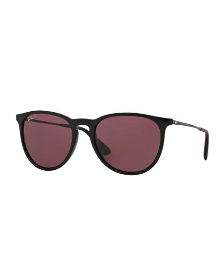 Men's Classic Round Metal Sunglasses
