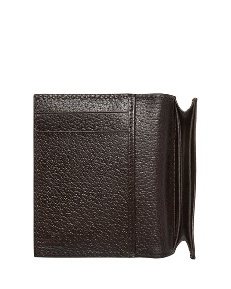 8b5f28c7c908eb Gucci GG Marmont Leather Fold-Over Card Case