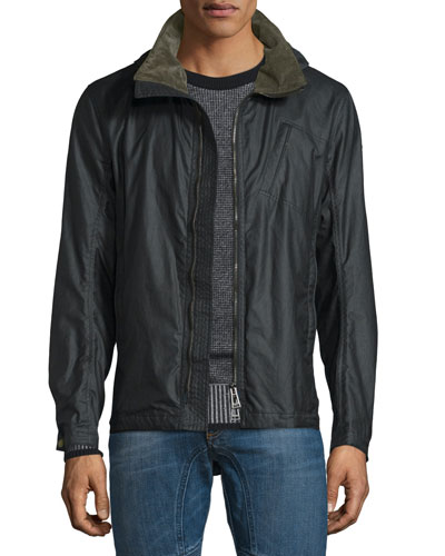 Citymaster Waxed Cotton Jacket, Black