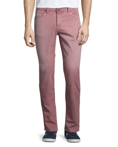 Tyler Slim-Straight Jeans, Thrashed Radish