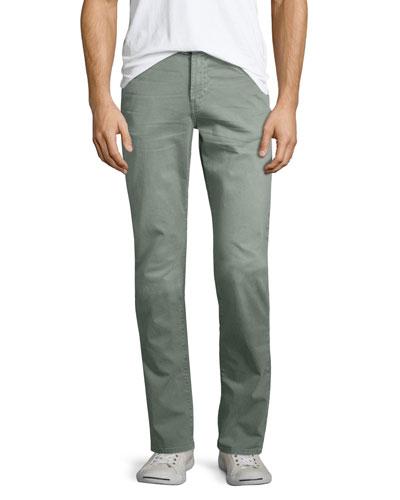 Tyler Slim-Straight Jeans, Thrashed Grit