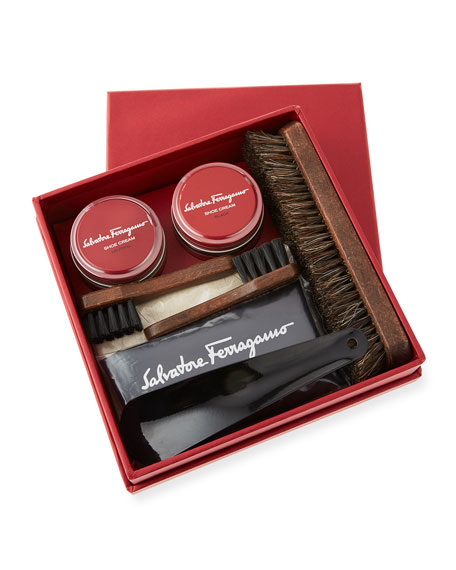 Men's Leather Shoe Cleaning Kit
