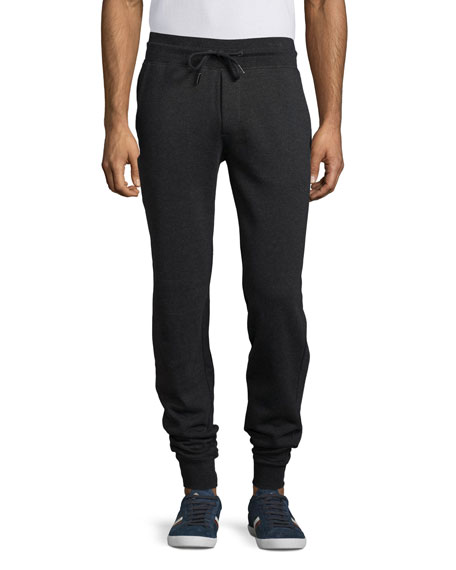 Slim-Fit Jogger Pants, Charcoal