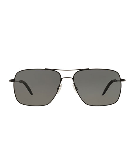 b2d83eaff5d Oliver Peoples Clifton 58 Polarized Sunglasses