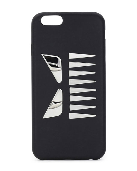 Fendi Face w/Teeth iPhone 6 Case, Black