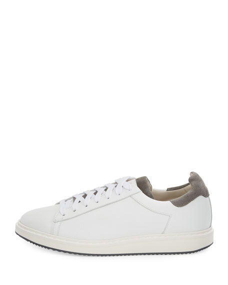 Icaro Leather Low-Top Sneaker
