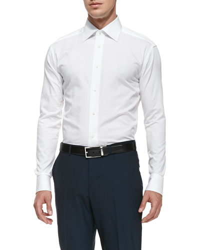 Men's Dress Shirts : Plaid & Poplin at Bergdorf Goodman
