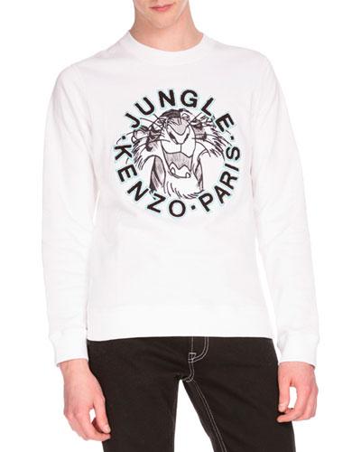 Shere Khan™ Logo Sweatshirt, White