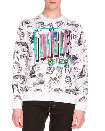 Shere Khan™ Tiger-Print Sweatshirt