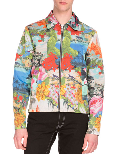 Jungle Book® Printed Reversible Zip Jacket