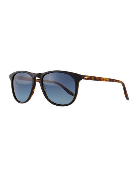 Mac Round/Square Sunglasses, Black