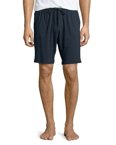 Jersey Lounge Shorts  Anthracite
