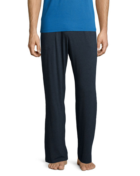 Jersey-Knit Lounge Pants, Anthracite