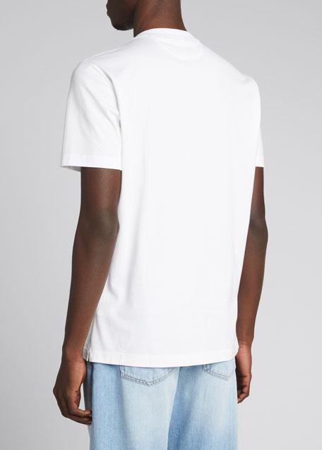 Marled Crewneck T-Shirt, Pearl Gray