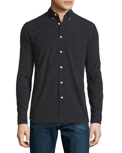 Standard Issue Woven Sport Shirt, Black