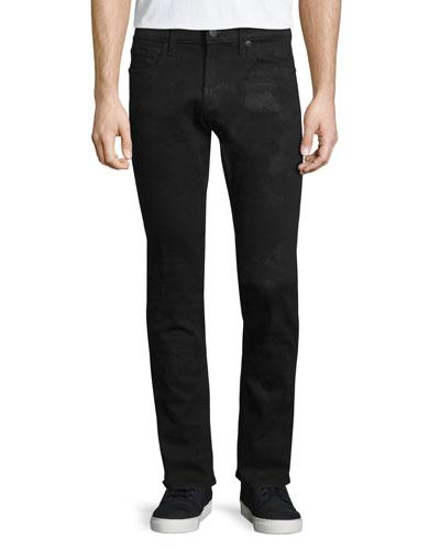 Tyler Hoyt Slim-Fit Denim Jeans, Black