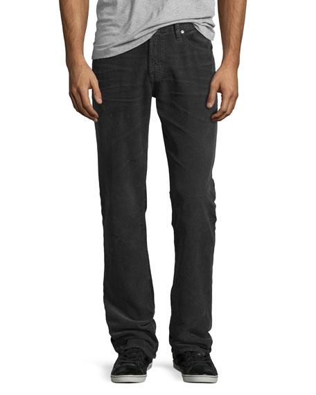 AG Graduate Corduroy Pants, Dark Gray