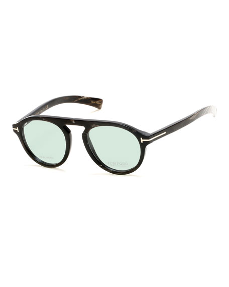 b6ebf2888c6 TOM FORD Tom N.9 Private Collection Real Horn Optical Frames