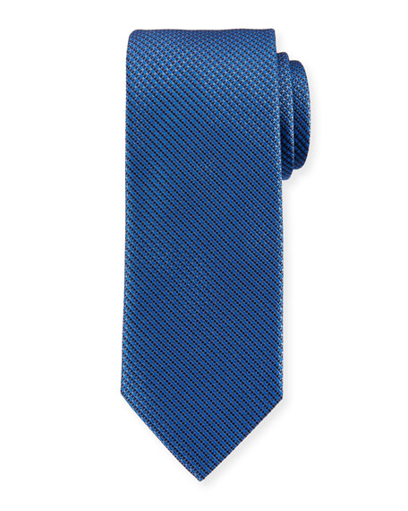 Micro-Neat Woven Silk Tie